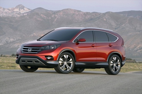 New 2012 Honda CRV Photo