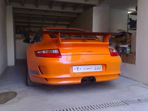 Dhiaa Al-Essa Super Cars Porsche GTS RS