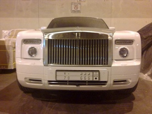Dhiaa Al-Essa Super Cars Rolls Royce Phantom