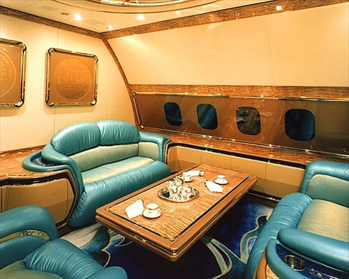 Sultan Brunei Boeing 747 Luxury