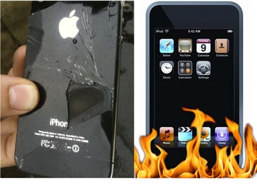 iPhone 4 Caught Fire