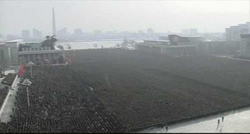 Kim-Jong-Il-Funeral Vast Crowds