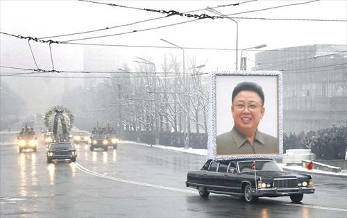 Kim-Jong-Il-Portrait_Funeral_Procession