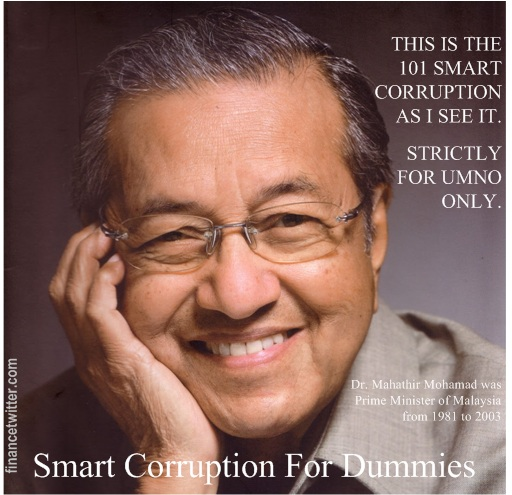 Mahathir Smart Corruption for Dummies