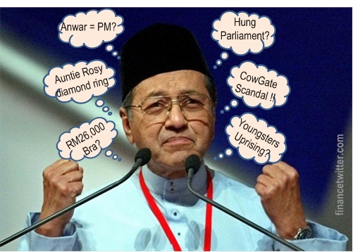 Mahathir Worry About Election