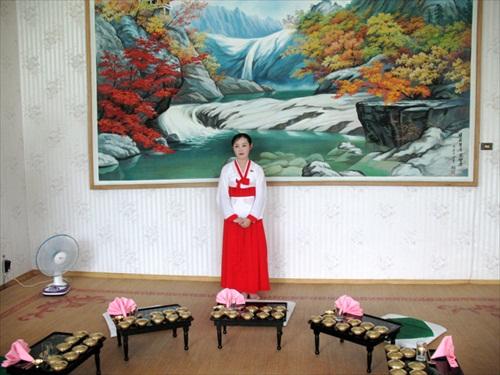 North Korea Pyongyang Attendant