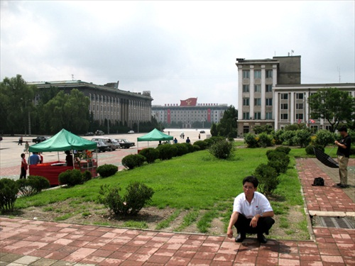 North Korea Pyongyang Streetlife