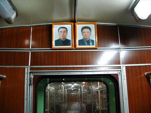North Korea Pyongyang Subway
