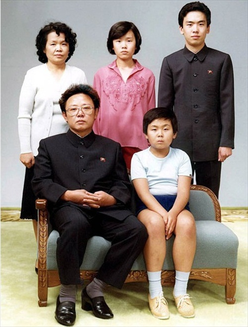 North Korea Kim Jong Il 1981