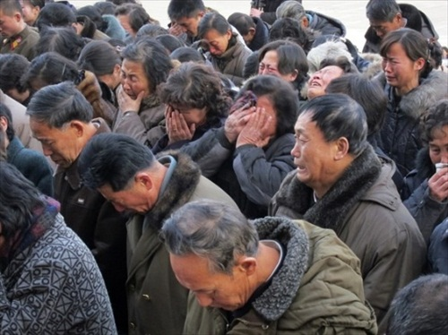 North Koreans mourn Kim Jong Il Death