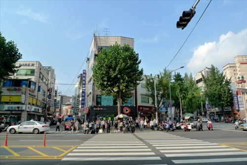 South Korea Seoul Intersection