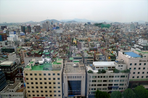 South Korea Seoul Skyline