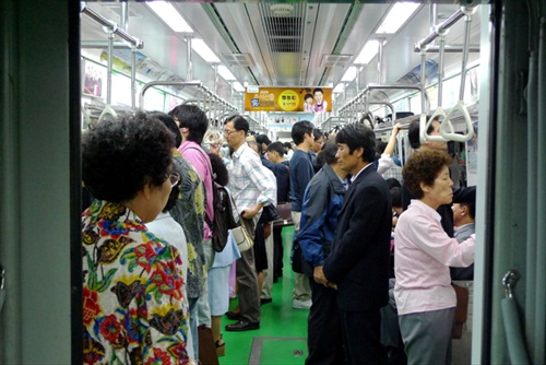 South Korea Seoul Subway