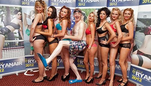 How Ryanair calendar 2014