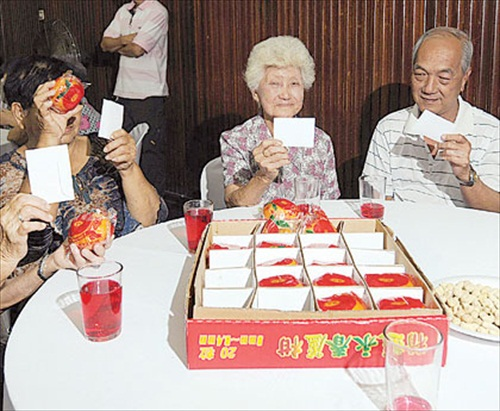 CNY Perkasa White Envelope To Senior Chinese