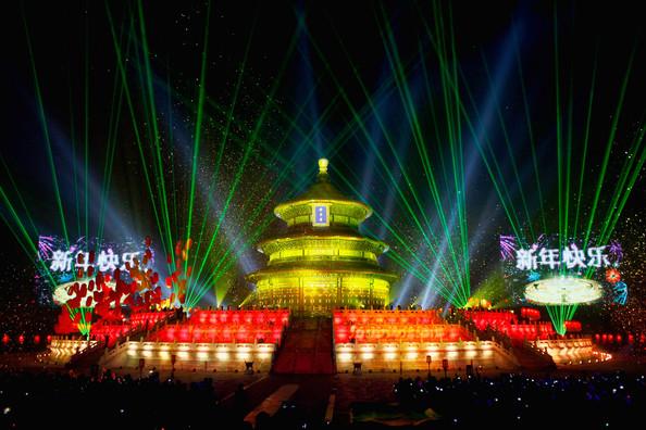 New Year 2012 Fireworks - China Beijing
