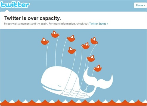 New Year 2012 Twitter overload - Capacity Overload
