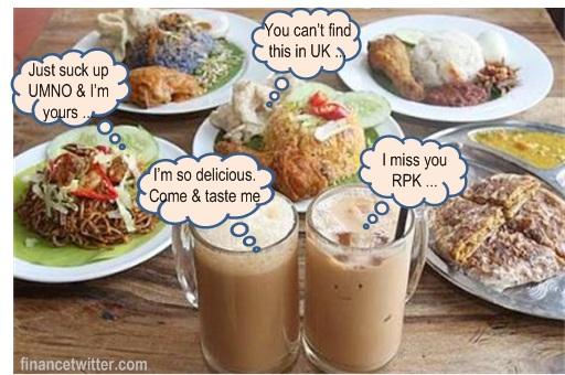 Raja Petra RPK Switch Sides - Homesick Food