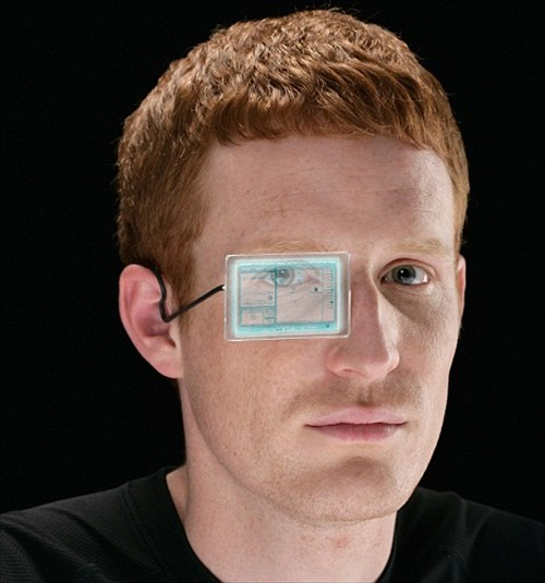 Google Prototype Transparent Glass Screen