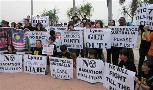 Lynas Demonstrators