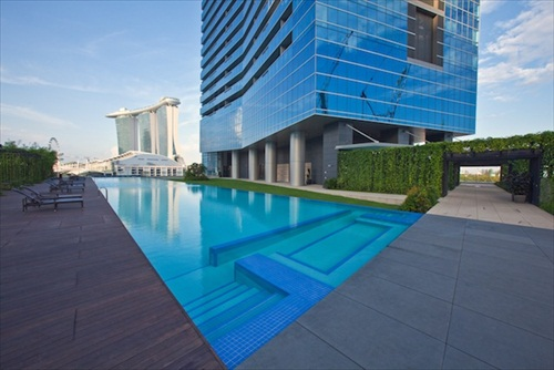Marina Bay Suites Financial Center
