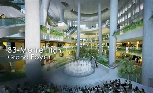 NFC Scandal The Star Vista 33-Metre High Grand Foyer