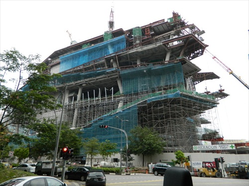 NFC Scandal The Star Vista Under Construction