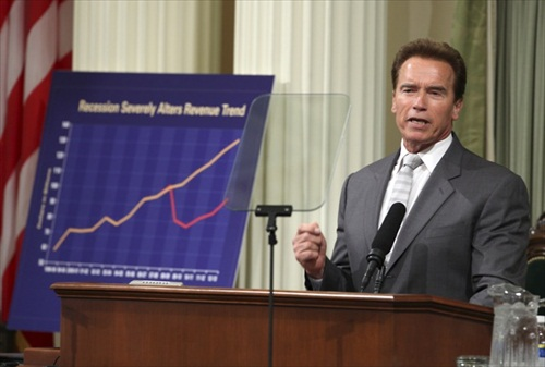 Apple $500 Billion - California Budget Arnold