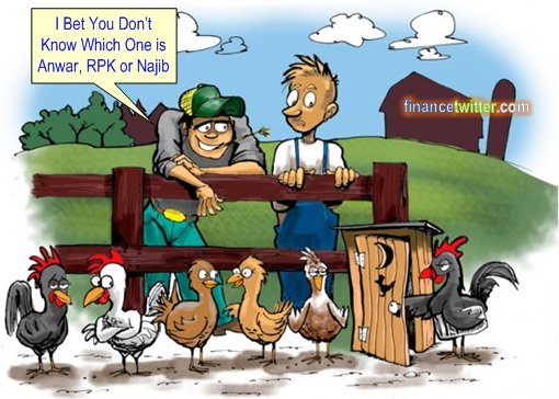 Debate Which Chicken Anwar RPK Najib