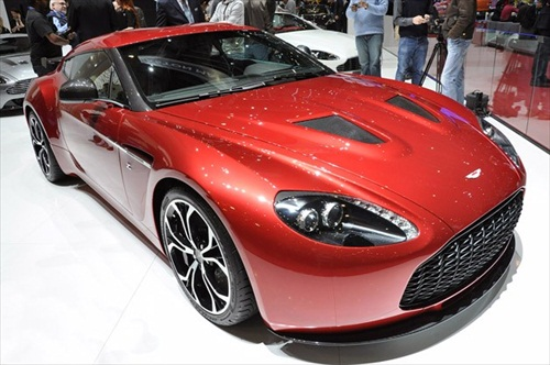 Geneva Motor Show 2012 Aston Martin V12 Zagato - 1