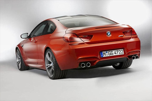 Geneva Motor Show 2012 BMW M6 Coupe - 2