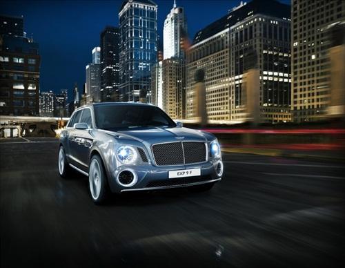Geneva Motor Show 2012 Bentley EXP 9F Luxury SUV - 1