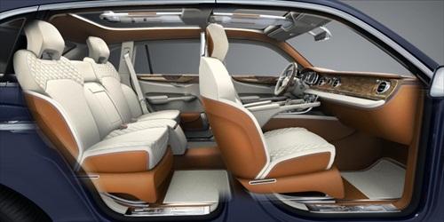 Geneva Motor Show 2012 Bentley EXP 9F Luxury SUV - 2
