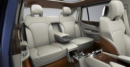 Geneva Motor Show 2012 Bentley EXP 9F Luxury SUV - 3