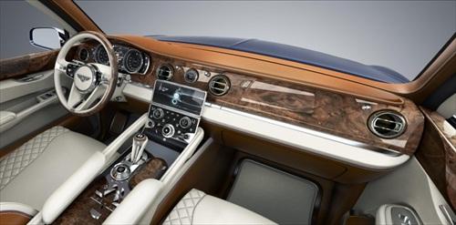 Geneva Motor Show 2012 Bentley EXP 9F Luxury SUV - 5