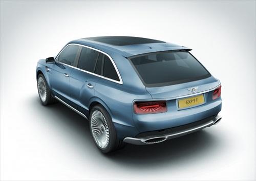 Geneva Motor Show 2012 Bentley EXP 9F Luxury SUV - 6