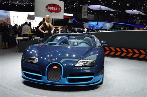 Geneva Motor Show 2012 Bugatti Veyron Grand Sport Vitesse - 1