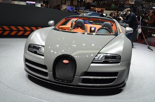 Geneva Motor Show 2012 Bugatti Veyron Grand Sport Vitesse - 2