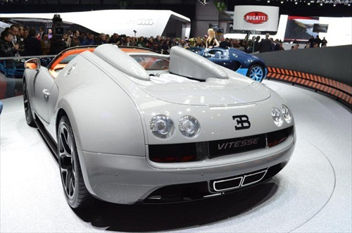 Geneva Motor Show 2012 Bugatti Veyron Grand Sport Vitesse - 3
