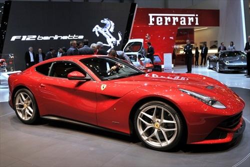 Geneva Motor Show 2012 Ferrari F12 Berlinetta - 1
