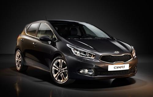 Geneva Motor Show 2012 Kia Ceed