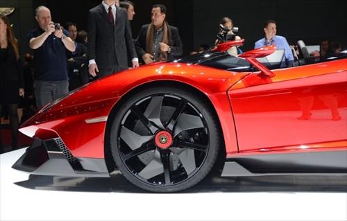 Geneva Motor Show 2012 Lamborghini Aventador J 11