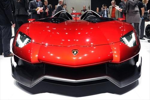 Geneva Motor Show 2012 Lamborghini Aventador J - 3