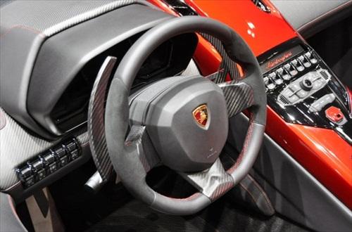 Geneva Motor Show 2012 Lamborghini Aventador J - 5