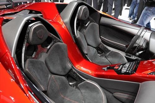 Geneva Motor Show 2012 Lamborghini Aventador J - 6