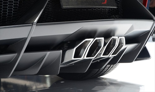 Geneva Motor Show 2012 Lamborghini Aventador J - 9
