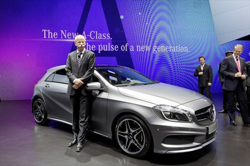 Geneva Motor Show 2012 Mercedes A Class - 1