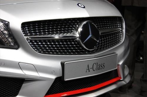 Geneva Motor Show 2012 Mercedes A Class - 2