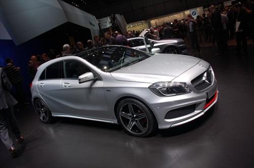 Geneva Motor Show 2012 Mercedes A Class - 3