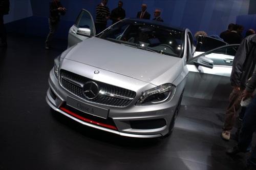 Geneva Motor Show 2012 Mercedes A Class - 4